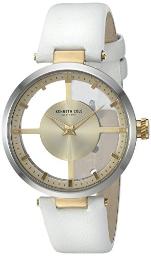 kenneth-cole-womens-white-leather-strap-gold-dial-kc10022539