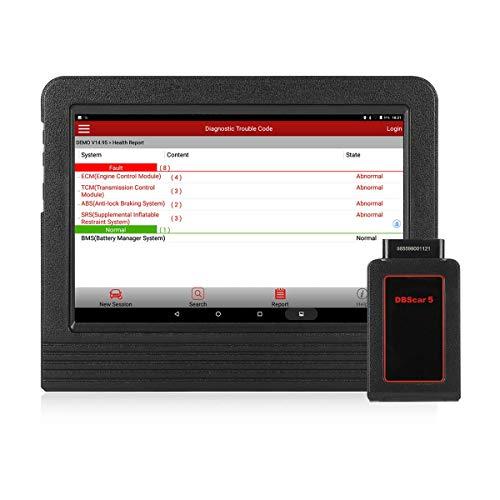 LAUNCH X431 V+ (Pro3) Outil de Diagnostic OBD2 EOBD WiFi Bluetooth Android Valise Diagnostique Auto Multimarque Lecteur de Code Professionnel en Français avec Écran Tactile 10.1'
