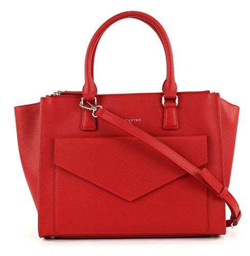 Lancaster Adele Sac fourre-tout Shopper cuir 32 cm Rouge (Rouge)