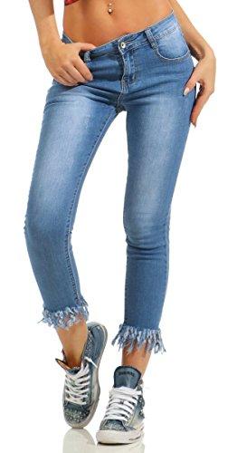 Fashion4Young - Jeans - Femme 5432-blau