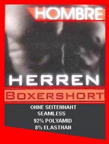 Men's Fashion Lounge Herren Boxershorts 'Hombre', 4er Pack in trendigen Farben und verbesserter Passform schwarz / dunkeloliv / anthrazit / dunkelblau