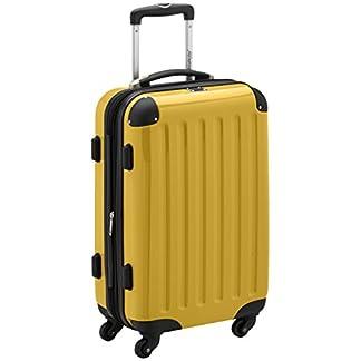 Hauptstadtkoffer Alex Trolley rígido con cierre TSA, 42 litros, 55 x 35 x 20 cm, Amarillo