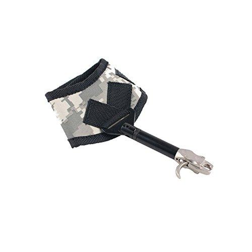 Funtress Compound Bow regolabile di uscita trigger Aiuti per la caccia con Fibbia cinturino da polso Tiro con l'arco Pinza ripresa trigger Accessori