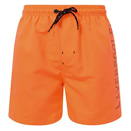 Board Swim Shorts (Liverpool FC LFC Mens Orange Swim Board Shorts Trunks NWT Official)