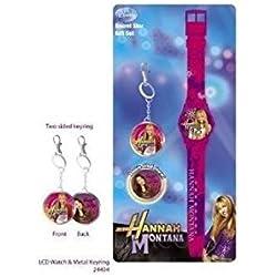 Hannah Montana LCD Watch & charm Set