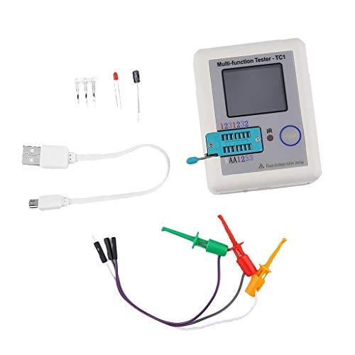 ARCELI LCR TC1 ESR Tester Transistor Induktivität Kapazität Widerstand ESR Meter -