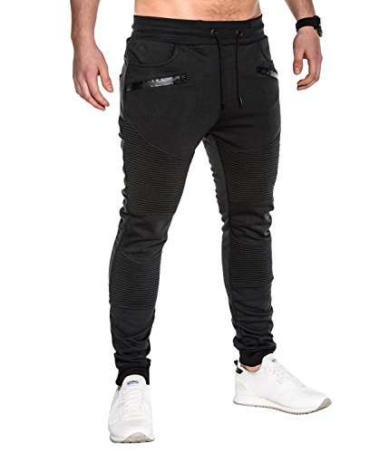 BetterStylz - Pantalon - Relaxed - Homme multicolore Mehrfarbig Schwarz