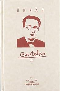 Obras Castelao T.IV par  Castelao