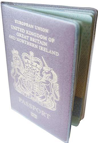 Passaporto proteggere portafoglio copertina plastica trasparente garanzia di 5 anni