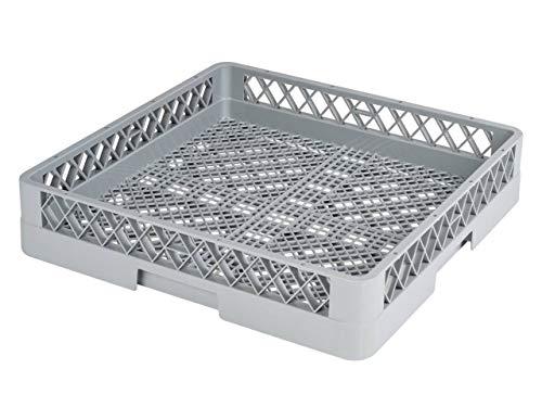 heyChef - Besteck-Korb, 50 x 50 cm - ohne Einteilung | Feinmaschiger Spülkorb für die Gastro Spülmaschine | Weitere Spülkörbe direkt auswählbar
