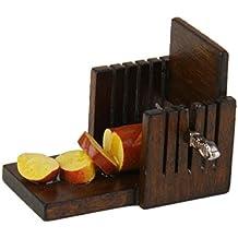 1/12 Dollhouse Miniatura Cortadora de Pan Decoración para Casa de Muñeca