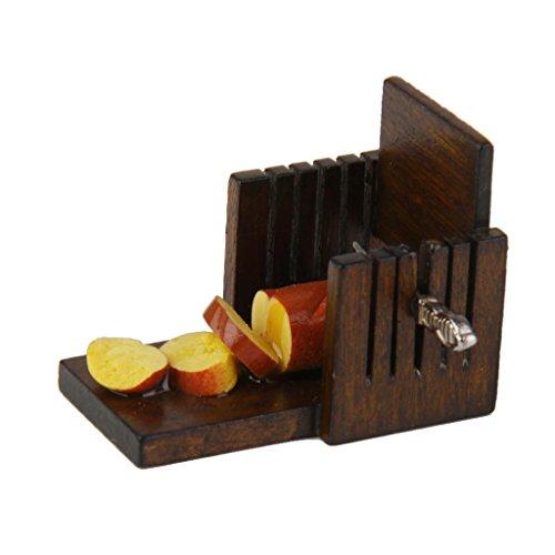 Puppenhaus Aus Holz Brotschneidemaschine Puppenhaus Massstab 1:12 Brotscheibe Fruehstueck