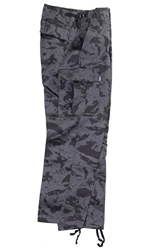 Robuste + Komfortable US Style Rangerhose (Russian-Night-Camo/XL) (Herren Camo Weste Kostüm)