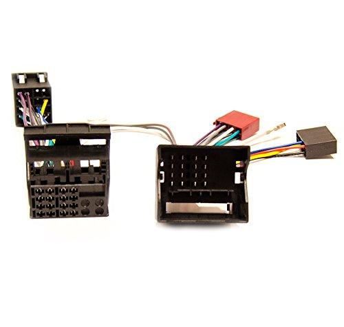 Parrot THB Burry FSE Manos Libres Adaptador Adaptador de radio ISO para Citroen C1, C2, C3, C4, C5, C6, C8, DS3, DS4, DS5, NEMO, JUMPY, JUMPER, Peugeot 107, 207, 307, 407, 607, 807, 1007