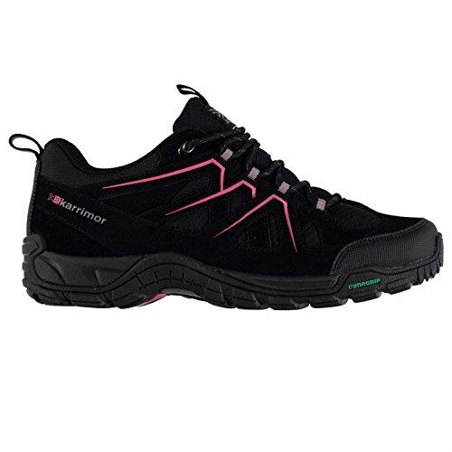 Karrimor Womens Summit Walking Lace Up Outdoor Trekking Hiking Shoes Black UK 6 (39)