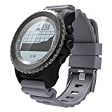 QYQ Bluetooth Smart Watch Wireless-Armband mit Pulsmesser Schlaf-Monitor Fitness-Tracker Smartwatch mit sitzenden Reminder Music Player (Farbe : Gray)