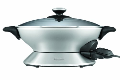 Gastroback 42515 Advanced PRO Elekto Wok, Metallic