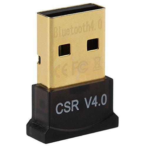 Link-e : USB Bluetooth 4.0 Dongle Stick Adapter für PC mit Windows 10, 8.1, 8, 7, XP, Vista Reichweite 20-50m, 3Mbps