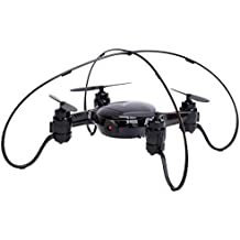 DWI X21 Mini RC Drone Wifi FPV Quadcopter con altitud Hold Mini Drone 0.3MP cámara Drone- Negro