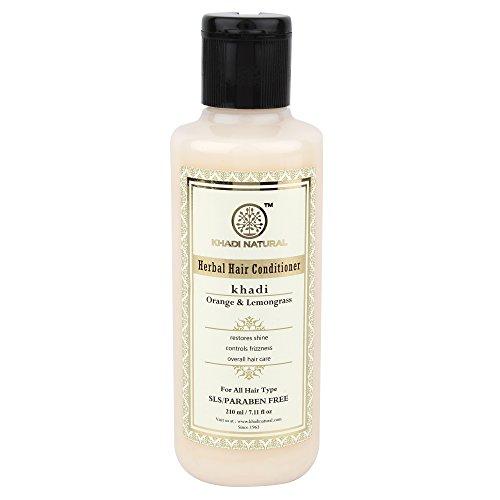 Pflanzenhaar Zitronengras Hair Conditioner (210 ml) - von Khadi Organic Natural -