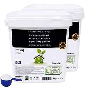 NortemBio Natron. Natriumbicarbonat. Ökologischer Input aus natürlichem Ursprung, Premium-Qualität, CE – Produkt