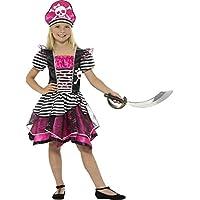Smiffys 21981l perfecto disfraz de pirata para niña (Large)
