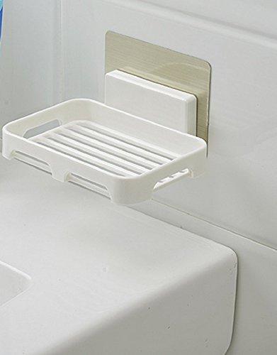 THk&M Wandmontierte Nicht-Mark-Magic-Paste Badezimmer Creative Drain SOAP-Rack SOAP-Halter (Single (Style Outfits Fett)
