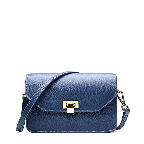 S Shirley 2019 New Small Square Bags Schultertasche Messenger Bag Damen/Damen Handtaschen,Blue