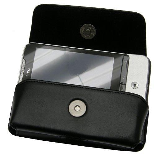 Original MTT Quertasche fuer - HTC Legend - Horizontal Tasche Ledertasche mit Clip und Sicherheitsschlaufe (MTT Produkt) fuer HTC Legend