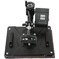 Impresora de transferencia de calor, Impresora de prensa de calor de doble pantalla 5 en 1, 32 tazas de 430 ℉(European standard 220V)