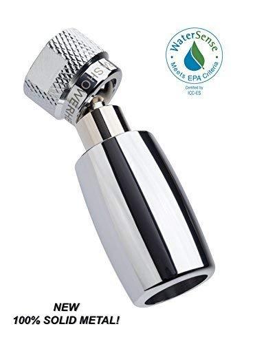 High Sierra Showerheads Alle Metallwatersense-zertifizierte 1.8 gpm hohe Wirkungsgrad Low-Flow-Duschkopf (Chrom)