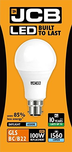 JCB-LED-A60-Opal-Energy-Saving-Lightbulb-B22-100-W-Cool-WhiteKelvin