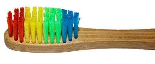 SIDCO Bambus Zahnbürste für Kinder