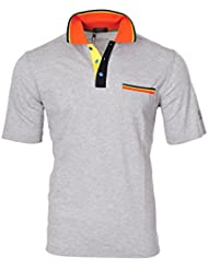 Paul & Shark Polo Poloshirt Un sólo Color Gris L