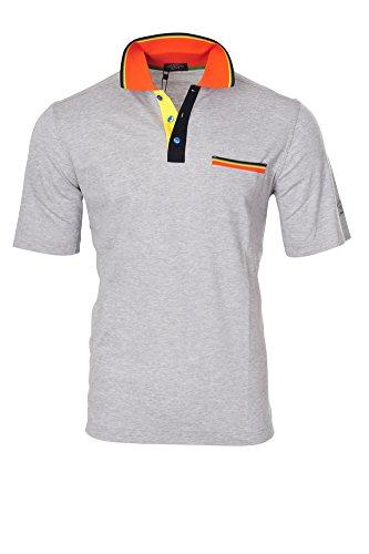 Paul & Shark Polo Poloshirt Einfarbig Grau L