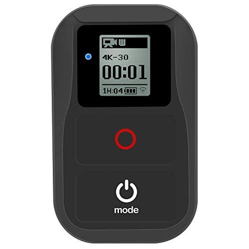 SupTig Fernbedienung WiFi Fernbedienung für GoPro Hero 6Hero 5Hero 4Hero Session Hero 3Hero 3+ Hero + LCD Cam Wasserdicht Wireless Fernbedienung WiFi Fernbedienung (schwarz) (Fernbedienung Für Go Pro Hero 3)