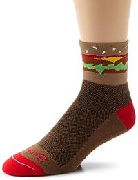 SockGuy Hamburger Mens Socks L/XL
