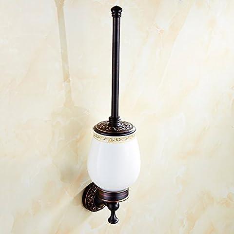 QUEEN'S All'Americana contemporanea scuro Bronzo Antico Bagno accessori hardware spazzola