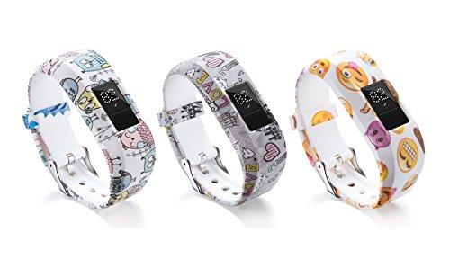 Dingtool Ersatzarmband Wristband Armband für Garmin Vivofit JR/Vivofit JR 2 (Color5)