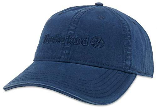 Timberland Canvas Baseball Herren Hüte Blau (U) (Timberland Hat)