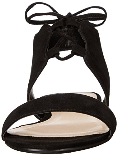 Nine West Jadlin Sandales plates en cuir Black