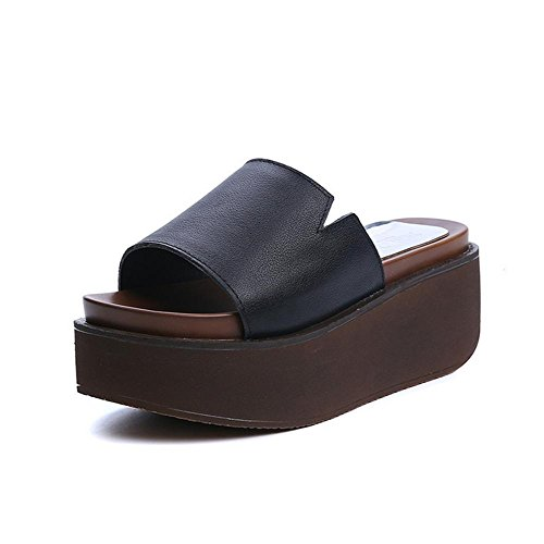 pengweiLe signore adattano la torta allentata antiscivolo all'estate dei pistoni inferiori inferiori alla fine delle pantofole fresche della stanza 1