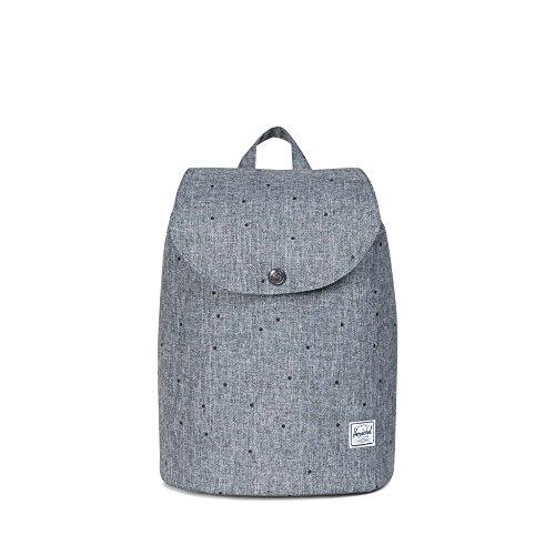 Herschel ,  Unisex Erwachsene Daypack, Scattered Raven Crosshatch (grau) - 10303-01160-OS