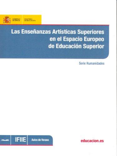 Las enseñanzas artísticas superiores en el espacio europeo de educación superior por Alberto Veintimilla Bonet