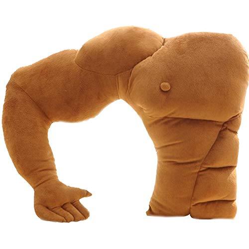 MQHOM Brazo Almohada Novio Creativa la Forma del Brazo del Hombre del músculo Mitad músculo del Pecho...