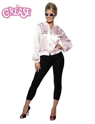 Smiffys-Womens-Grease-Pink-Ladies-Jacket