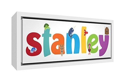 Little Helper Napperon avec Coaster Style Illustratif Coloré avec le Nom de Jeune Garçon Julien