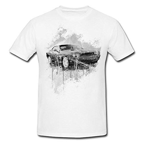 dodge-challenger-t-shirt-herren-men-mit-stylischen-motiv-von-paul-sinus