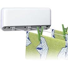 Rayen 0040 - Tendedero de pared con 3 cuerdas, cada una de 5 metros