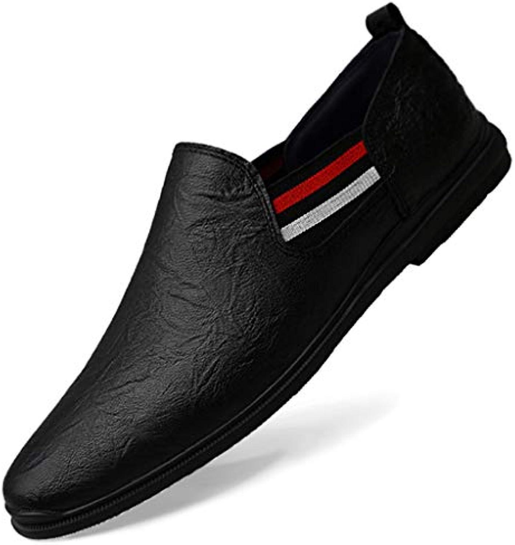ChengxiO Estate in Pelle Piselli Traspiranti Scarpe da Uomo Scarpe Scarpe Scarpe comode Fondo Morbido in Morbida Pelle Scarpe... | Altamente elogiato e apprezzato dal pubblico dei consumatori  d2d554